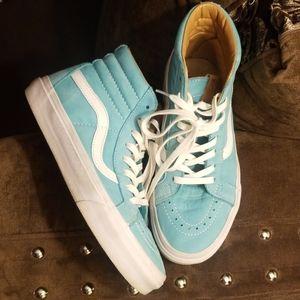 Van's Hightop sneakers Turquoise